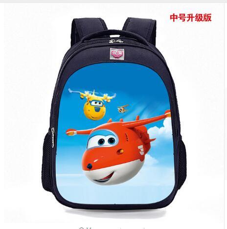 Super Wings Cartoon Pink Schoolbags Lovely Character School Backpack For Boys And Girls School Orthopedic School Backpacks Boys