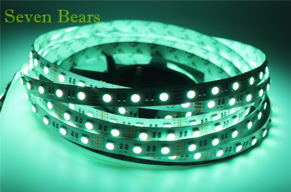 5m RGBW RGBWW 5050 Led Strip Light DC 12V 24V 4 en 1 Led Chip - Iluminación LED - foto 4