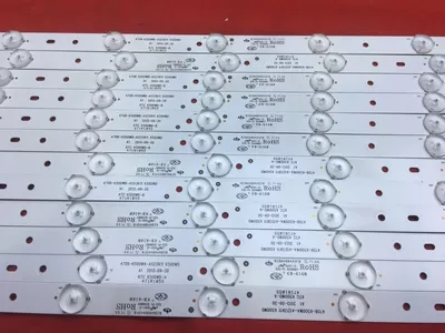 New 12 Pieces lot 50PFL3040 K500WD6 LED strip 4708 K500WA A1213K01 4708 K500WB A1213K01 K500WD 7