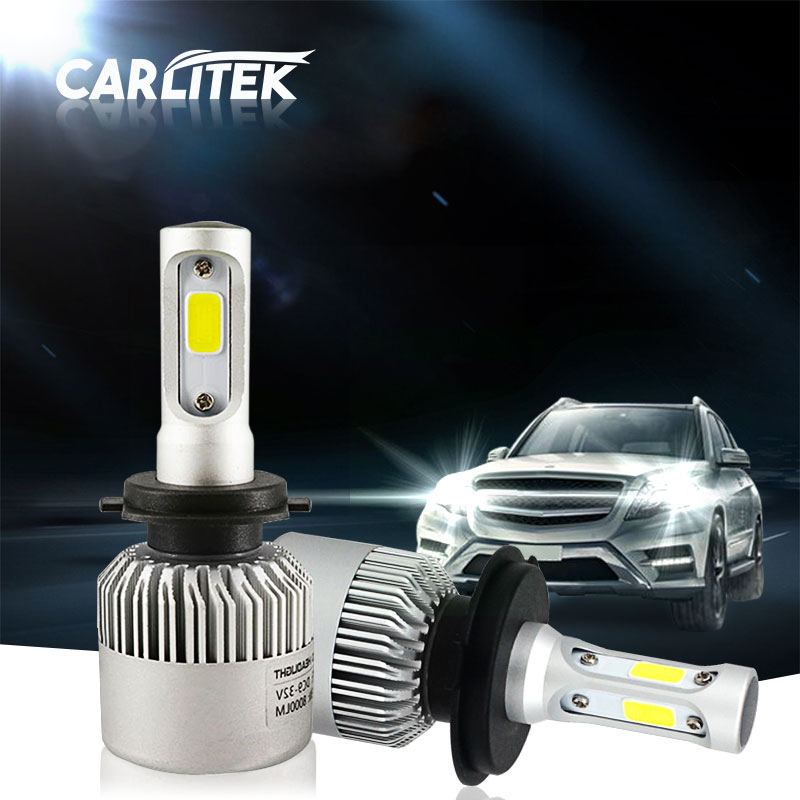 Hi-Lo Beam H4 H7 H3 H1 LED 12V Headlight Bulb COB Chip 8000lm 6500k 360 Degree Front Head Lamp Auto Light for Car Replacement 12v led light auto headlamp h1 h3 h7 9005 9004 9007 h4 h15 car led headlight bulb 30w high single dual beam white light