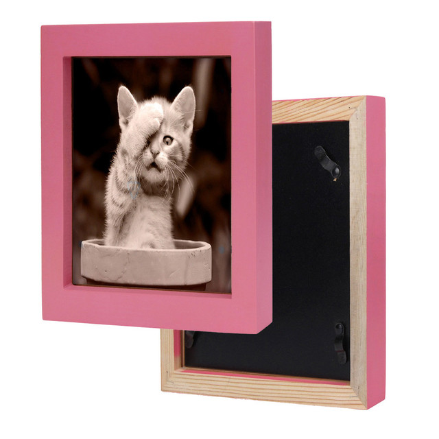 Wall Mounted Wooden Photo Frame