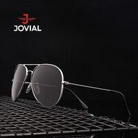 JOVIAL Classic Fashion Polarized Sunglasses Men Women Gold Silver Frame Aviator Sun Glasses Driving Outdoor Eyewear