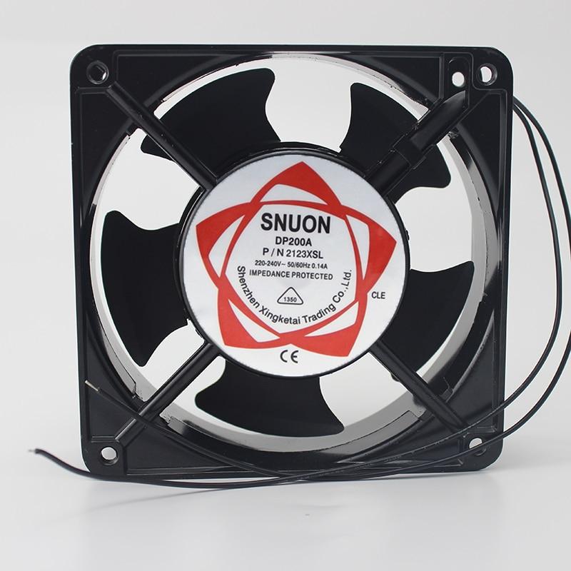 Ventilador 12038 DP200A 2123 220V 120*120*38 Fãs Axial 120*120*38mm ozonizador acessórios de Solda de estanho de exaustão do ventilador