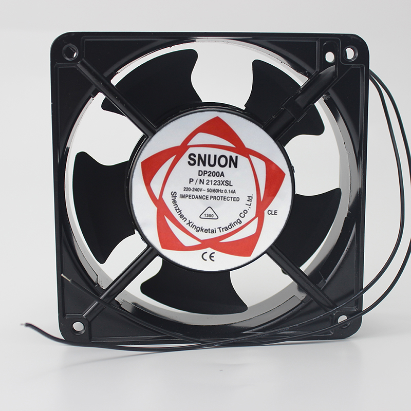 fan 12038 DP200A 2123 220V 120*120*38 Axial Fans 120 * 120 * 38mm ozonizer accessories Soldering tin exhaust fan|Fans & Cooling| |  - title=