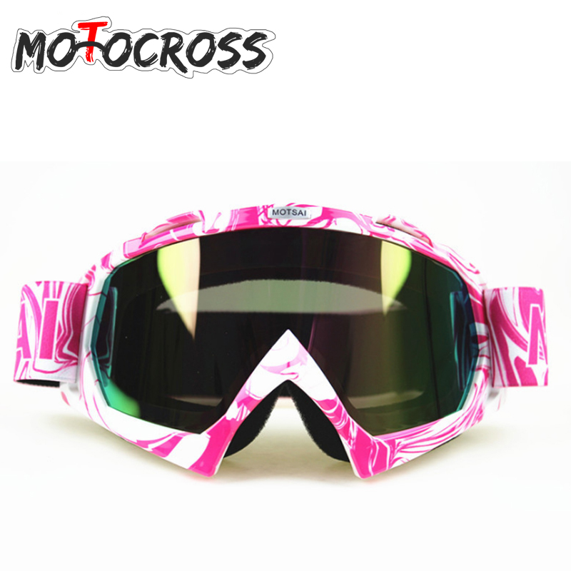 Oculos Motocross Goggles Glasses Cycling MX off road Helmets Ski Sport Gafas Motorcycle Dirt Bike Racing Goggles in Motorcycle Glasses from Automobiles Motorcycles