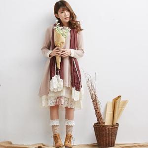 Mori girl midi бренд feestjurken Макси хиппи vestido винтажный халат lolita бархатное женское платье в готическом стиле Осень-зима