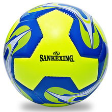 High Quality  Soccer Ball PU Official Training Balls Standard Size 5 Race dedicated Anti-slip Football Balls