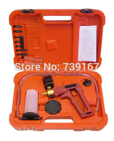 где купить Universal Hand Held Vacuum Tester And Pump Brake Bleeder Tool Kit ST0164 дешево