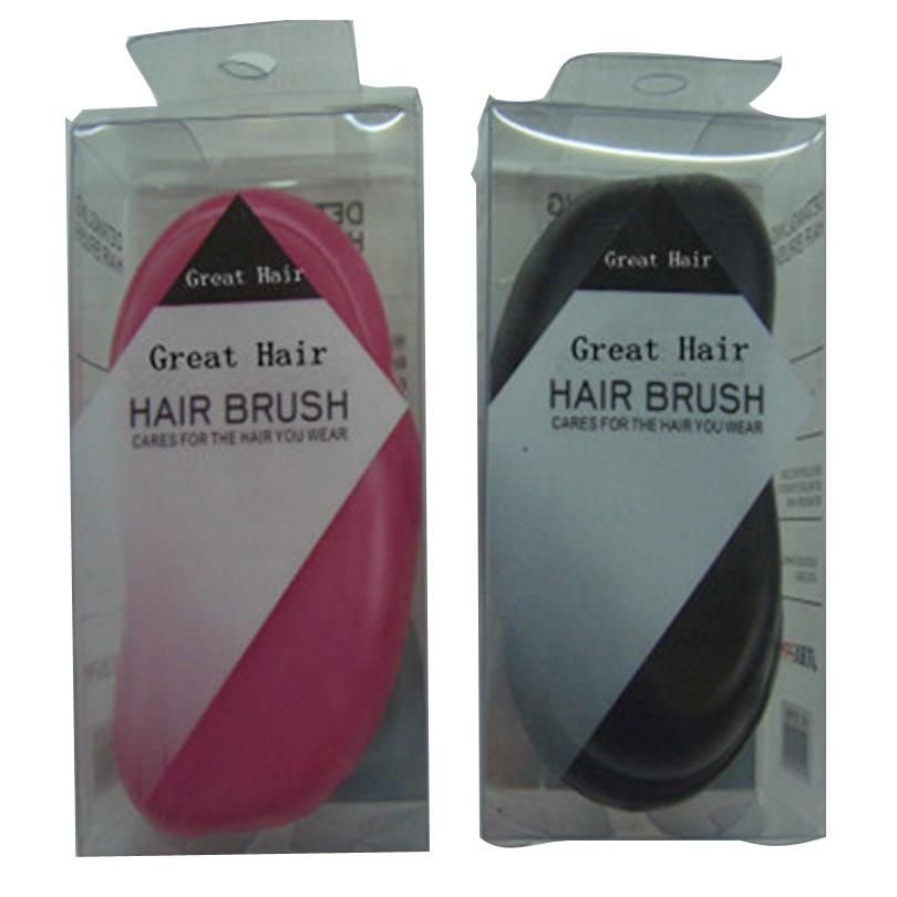 Профессиональная расческа модный простой гребень черного цвета 10 шт./лот цвет черного/розового/синего и фиолетового цвета для волос расческа