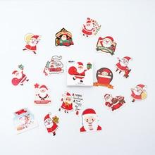 48 Pcs/box Christmas paper sticker DIY decoration stickers diary photo album scrapbooking planner label sticker 45 pcs box mountain cat paper sticker diy decoration stickers diary photo album scrapbooking planner label stickers