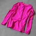 Nueva Compresión Apretada Camiseta Femenina de Manga Larga 2017 de Las Mujeres Camisa Wicking de secado rápido Negro joggers Estadio camiseta SL