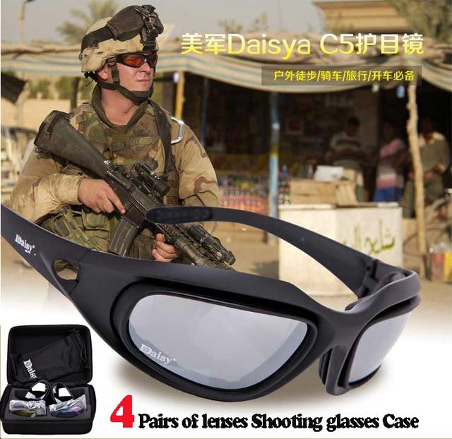 102f087bea86 Daisy C5 Polarized Army Goggles Desert 4 Lens