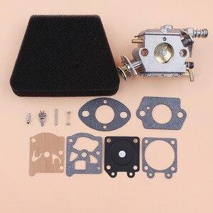 Image 5 - Карбюратор воздушный фильтр, Ремонтный комплект для газовой бензопилы mcculoch Mac 335 435 440 Partner 350 351 Walbro 33 29 Carb