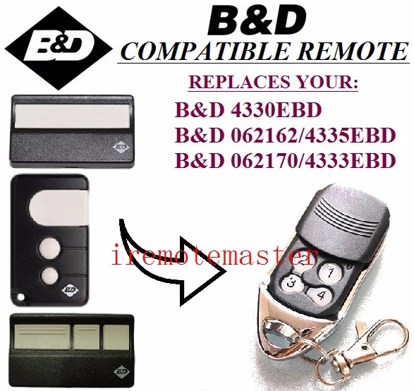 B&D 4330EBD, 4333EBD, 4335EBD01