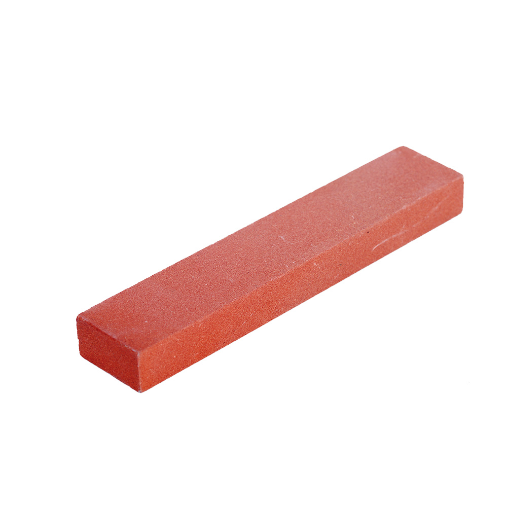 320# Ruby Sharpening Chrome Corundum Oil Stone 100*20*10mm Oil Stone For Highly Polished Sharpener Stone