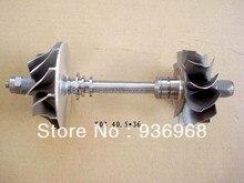 K03 Турбины колеса 40.5 мм * 45 мм, Comp колеса 36 мм * 50 мм, частей Турбокомпрессора Ротора в сборке поставщик AAA Частей Турбокомпрессора