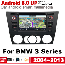 2 Din Car Multimedia Player For BMW 3 Series E90 E91 E92 E93 2004~2013 Android GPS Navigation Stereo Autoaudio Car DVD Player цена