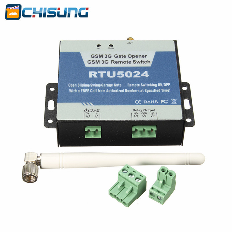 RTU5024 GSM Gate Opener Relay Switch Remote Access Control Wireless Door Opener rtu5024 gsm gate opener relay switch remote access control wireless door opener by free call iphone and android app support
