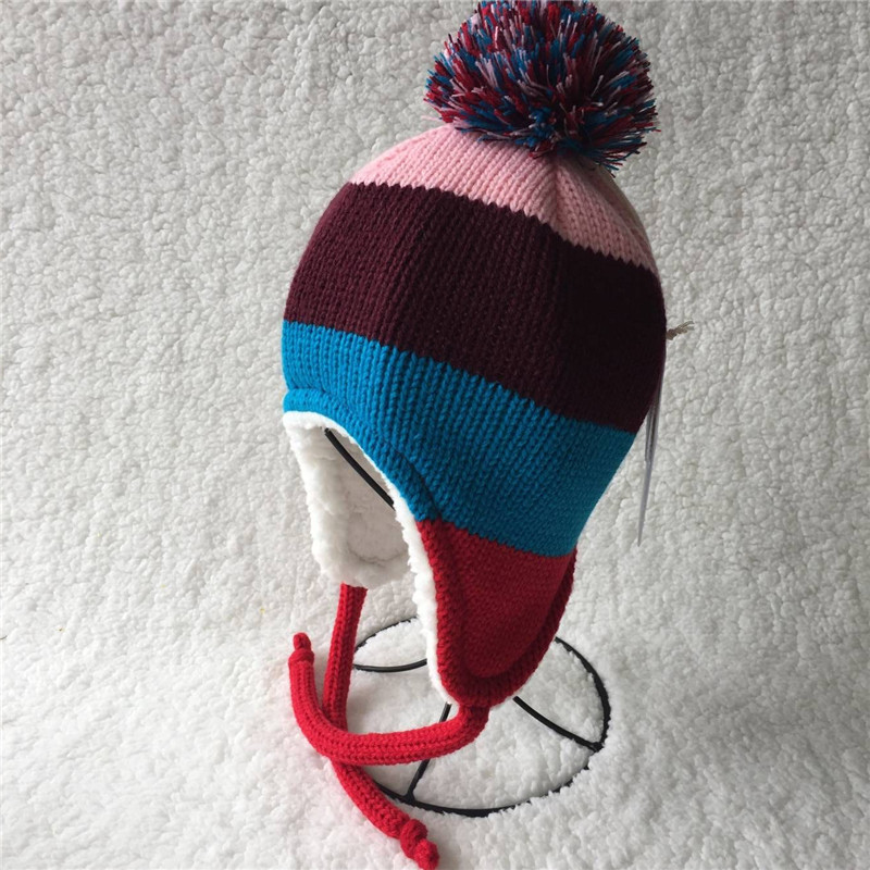 Wool knit cap, han edition, wool knit hat,A warm children's hat for autumn 2017 in color cap