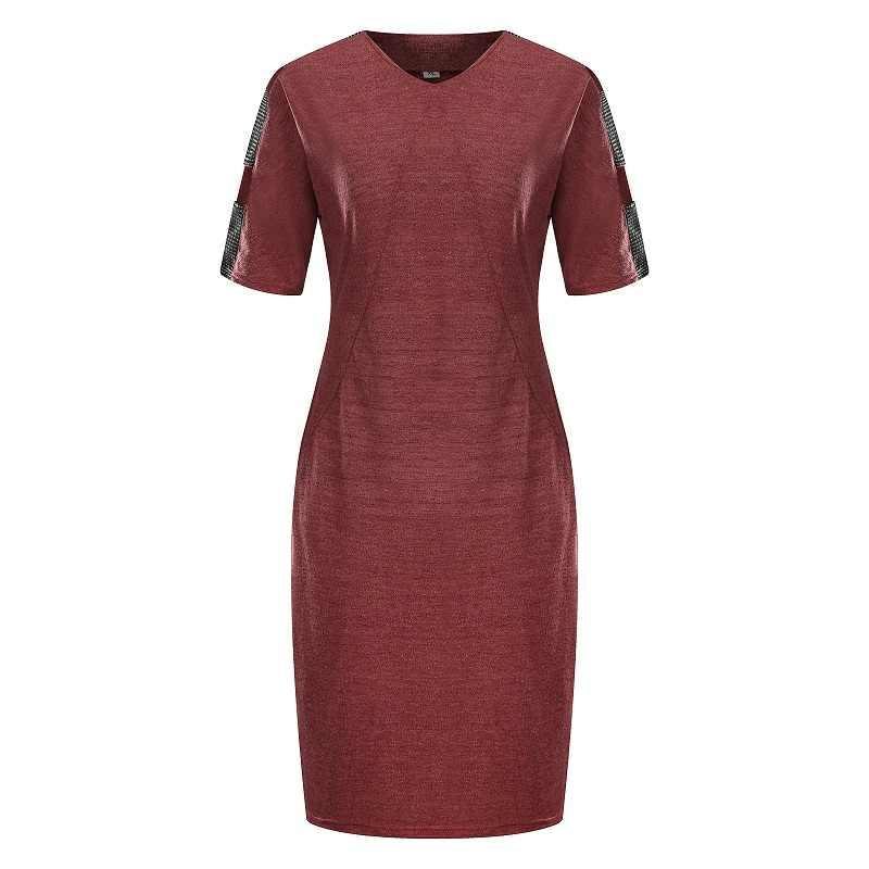 2019 新人デザイナーの女性のドレス Vestidos 夏プラスサイズ 6XL カジュアルルース O ネック Stright セクシーなドレスパーティー特大ギフト