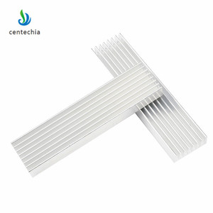 Image 1 - Durable Silver Aluminium Radiating Fin Cooling Heatsink 100*25*10MM for LED Power Transistor Electrical Radiator Chip