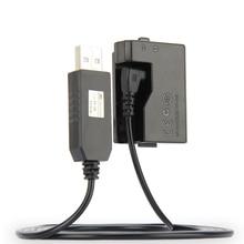 5 В USB ACK-E10-накопитель кабель адаптер питания LP-E10 манекен батарея DR-E10 DC муфта сцепление для Canon EOS 1100D 1200D 1300D X50 X70 T3