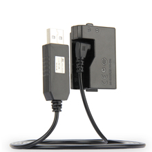 5 V USB ACK E10 câble dentraînement adaptateur dalimentation LP E10 batterie factice DR E10 poignée de coupleur DC pour Canon EOS 1100D 1200D 1300D X50 X70 T3