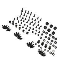 Motorcycle Black Complete Fairing Bolts Kit Washer Fasteners Clip Screws For Suzuki GSXR 600 / GSX R 750 K8 2008 2009 2010