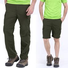 Męskie spodnie w stylu wojskowym Cargo nowy 2018 lato szybkie suche oddychające męskie spodnie biegaczy kieszenie wojskowe spodnie na co dzień 6XL 7XL tanie tanio Pełnej długości Mężczyźni REGULAR Lycra Poliester Mieszkanie Cargo pants Lekki Suknem Sznurek 1088 IGLDSI Skrzydeł