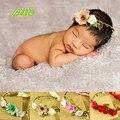HOT acessório Cabeça do bebê recém-nascido fotografia prop handmade headband da flor coroa de flores cesta de decoração Fotografia Adereços de Cabelo cocar
