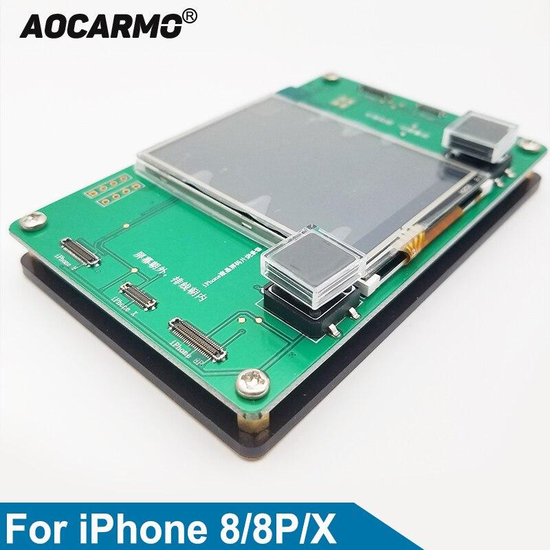 Aocarmo Pour iPhone 8 8 p X 10 LCD Écran Puce EEPROM Programmeur Photosensible Réparation Instrument Données Lire Écrire De Sauvegarde