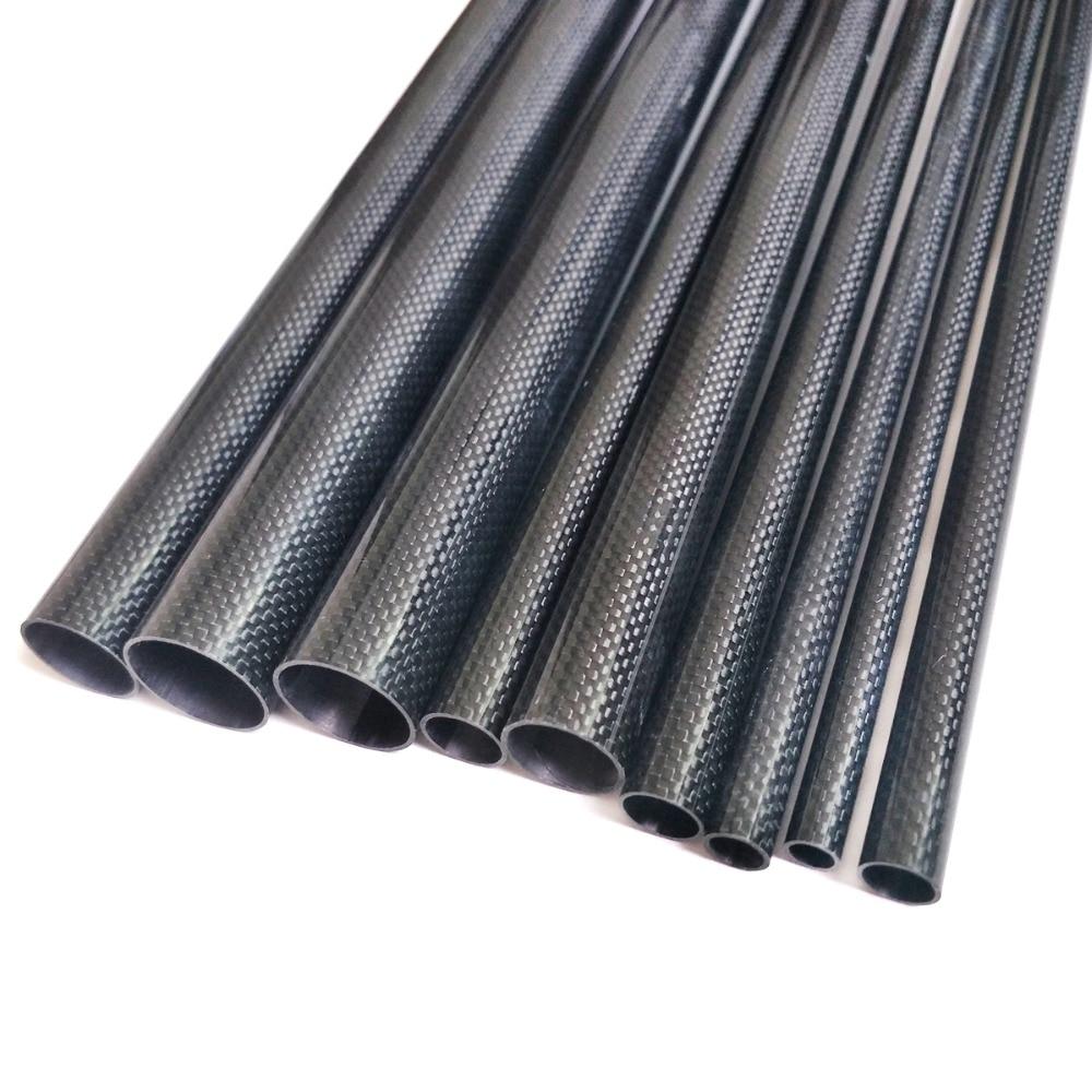 Braided Carbon Fiber Square Tubing 0.75 ID x 0.75 ID x 96