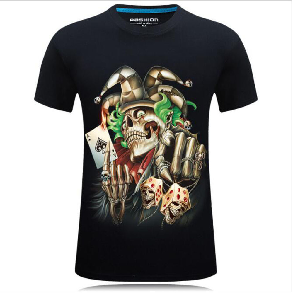 Fashion 3D t shirt Men tshirts Male Funny T Shirt Casual Tee Short Sleeve Top 2018 Streatwear Summer Printed Vintage DropShip in T Shirts from Men 39 s Clothing