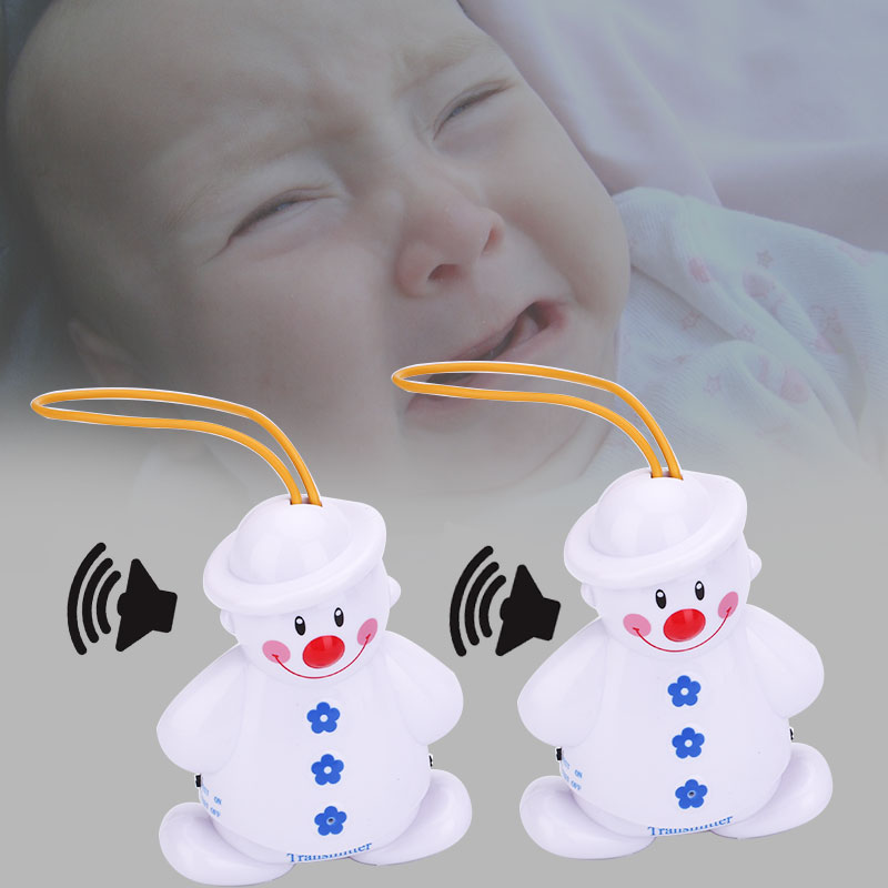 Giantree Wireless Novelty Infant Crying Alarm Monitor Watcher Baby Cry Snowman Detector Watcher Audio Monitor Alarm baby monitor lovely baby cry wireless detector monitor with transmitter receiver alarm