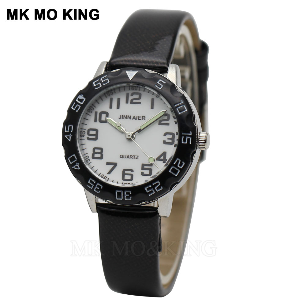 Neue kinder uhr mode farbe zifferblatt student Frauen Einfache Casual Quarzuhr Armbanduhren Kinder Uhren Beste Geschenk dhl