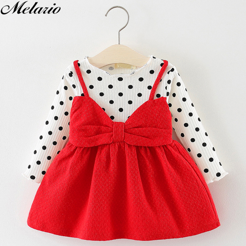 Cute Baby Dresses Floral Baby Girls Clothes Princess Girls Dress Suit Ball Of Yarn Kids Clothes Children Party Princess Dresses