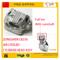 ZONGSHEN 65.5mm cqr KAYO BSE 250cc dirt pit bike atv quad CB250 air cooled engine cylinder head camshaft motorcycle accessories