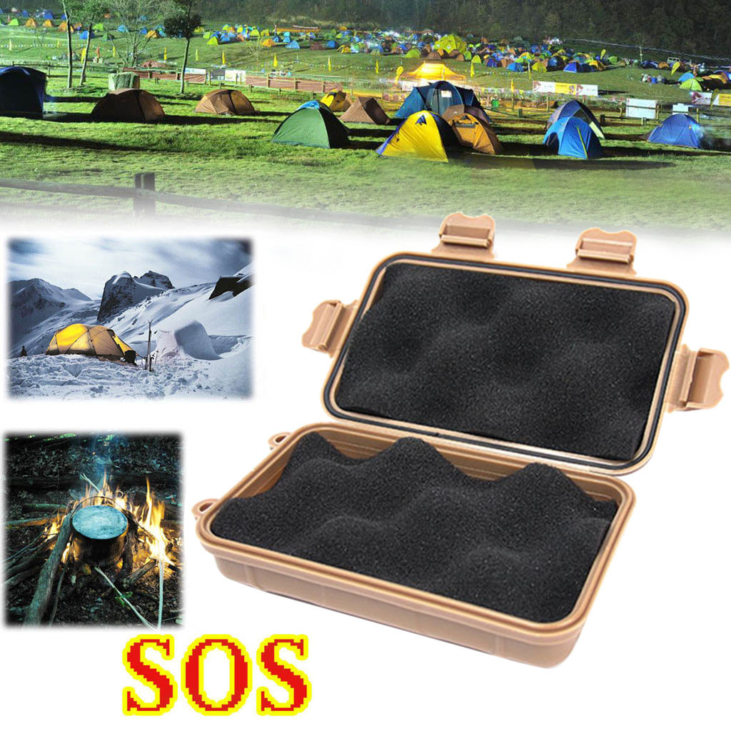 SOS Help Outdoor Sport Camping Hiking Survival Emergency Gear Tools Box Self Defense Weapon Tente De Camping