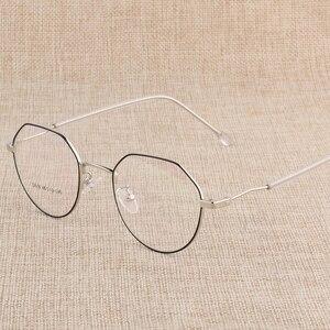 Image 1 - Hotony وصفة طبية النظارات البصرية إطار نظارات مع 6 ألوان اختيارية الجمعية الحرة مع العدسات البصرية D818