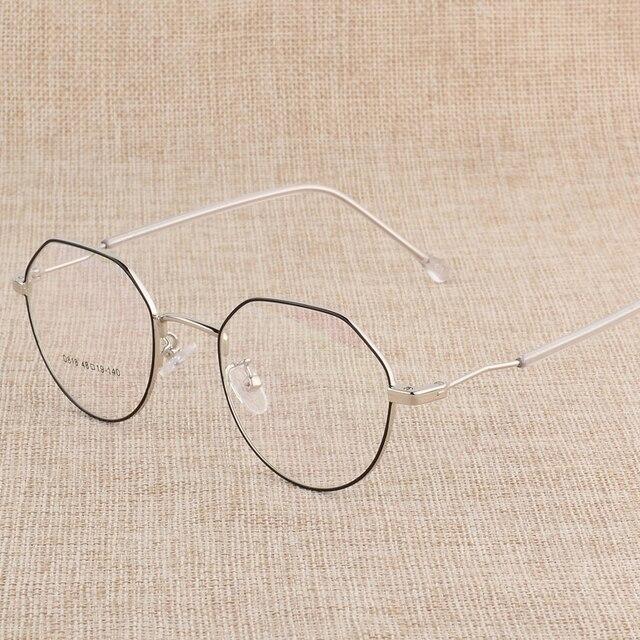 Hotony وصفة طبية النظارات البصرية إطار نظارات مع 6 ألوان اختيارية الجمعية الحرة مع العدسات البصرية D818