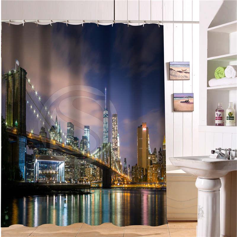 Achetez en gros voyage rideau de douche en ligne des grossistes voyage rideau de douche - Rideau de douche new york ...