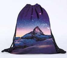 Backpack Drawstring 3D Printing Bags Drawstring Bag Travel Bag Unisex Backpacks 3D Printing Bags Drawstring Backpack Mochila