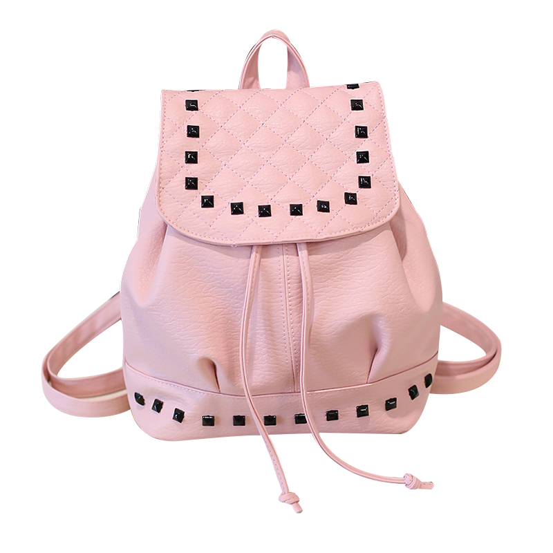 0784b65a53 Mini Leather Backpack Women Small Backpacks Female Travel Backpack School  Bags For Teenage Girls Cute Laptop Bagpack mochila-in Backpacks from  Luggage ...
