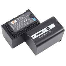 DSTE 2PCS VW-VBD58 Rechargeable li-ion Battery for PANASONIC AJ-PX270  AJ-PX298MC HC-MDH2 HC-MDH2GK HC-MDH2GK-K HC-MDH2M Camera