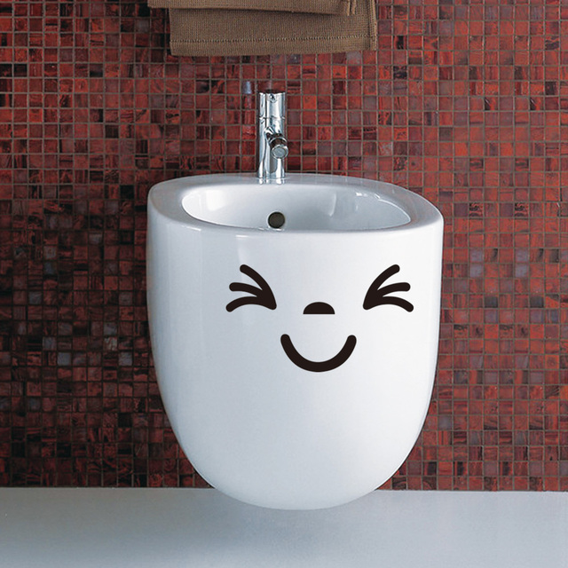 Happy Smile Toilet Sticker
