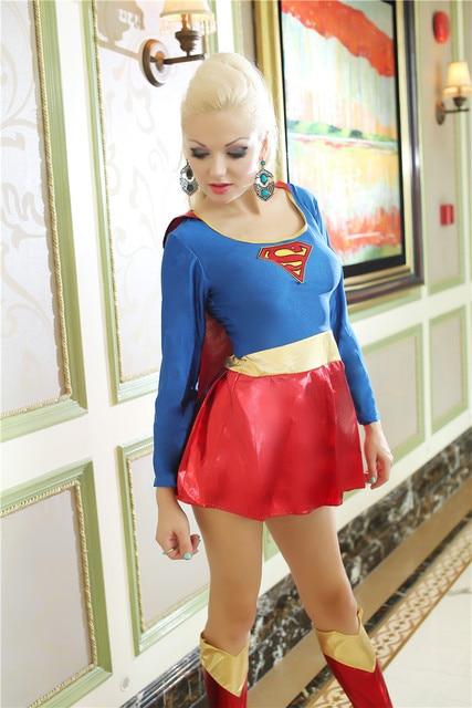 Special Offer Sexy Women Cosplay Costume Super Heroine Adult Superhero Halloween