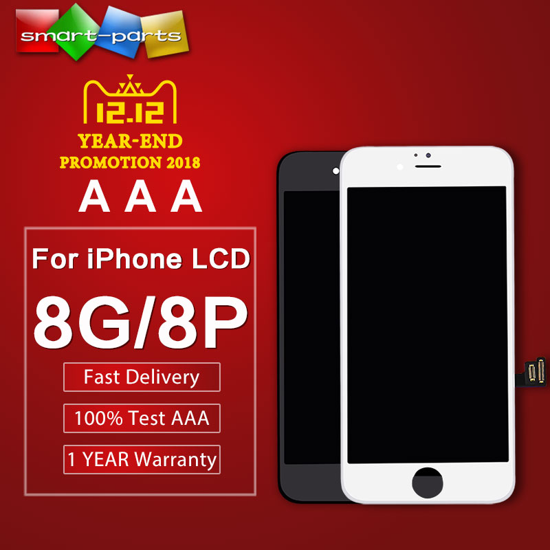 10pcs Grade AAA highscreen lcd for iPhone 8 8 PLUS LCD Display Touch Screen Digitizer Assembly