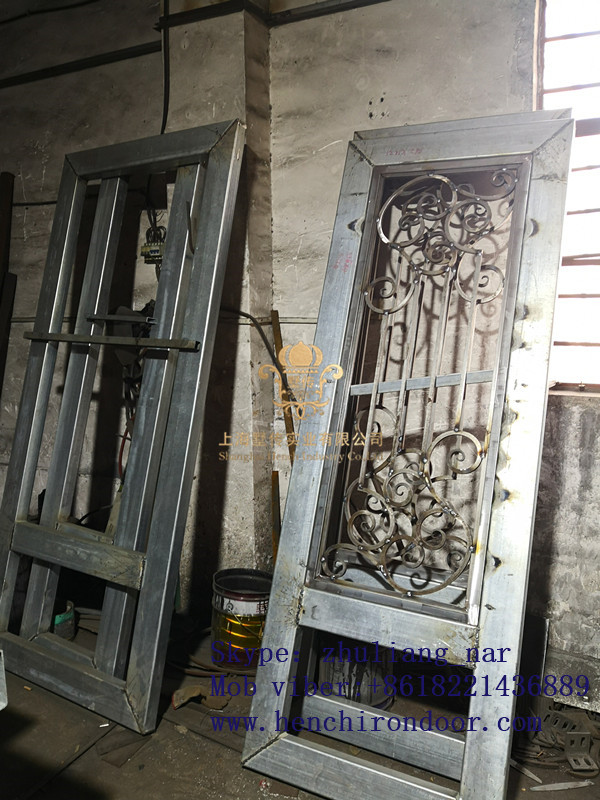 Whole Sale Best Iron Doors Iron Double Doors Iron Doors Best Price For Sale  Hc51