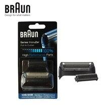 Braun hoja de afeitar de alto rendimiento 10B/20B (serie 1000/2000), cortador de lámina y pieza de repuesto (180 190 1775 1735 2675 5728 5729)