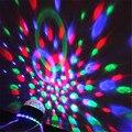 Новые Поступления Огни Этапе Лазерный Проектор LED Повернутого Базы Голосовое управление Led Хрустальный Магический Шар, Свет Диско DJ Free доставка